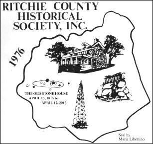 Ritchie County Historical Society Corporate Seal
